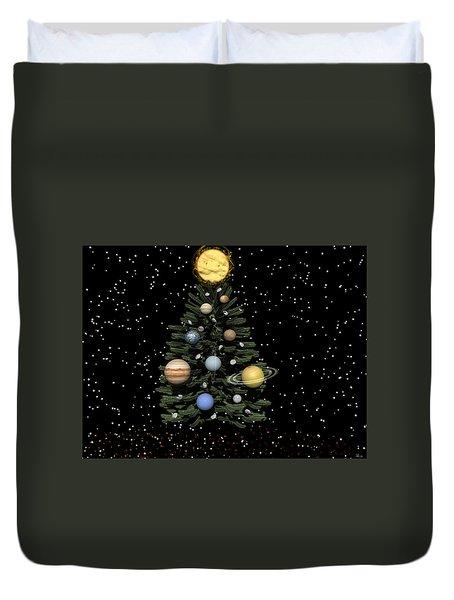 Celestial Christmas Duvet Cover