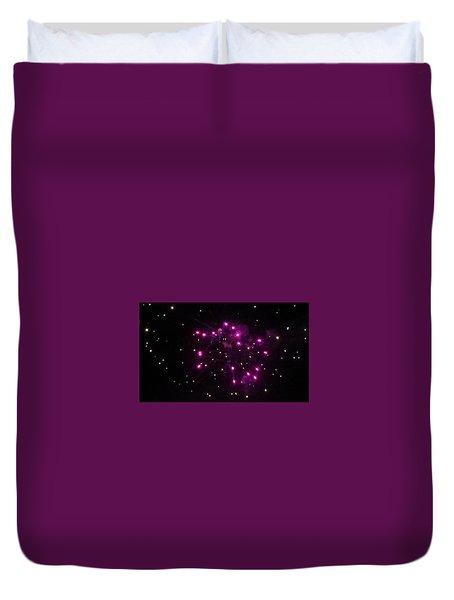 Celestial Firework Duvet Cover