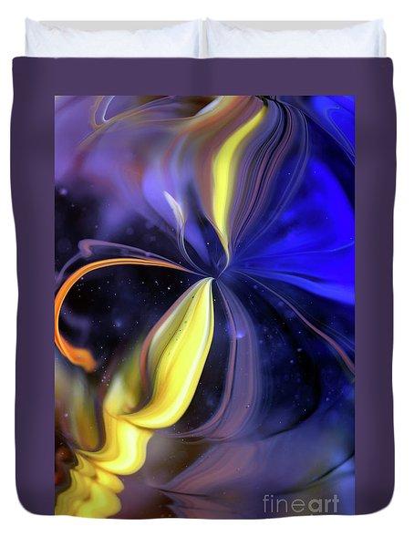 Celestial Flower Duvet Cover