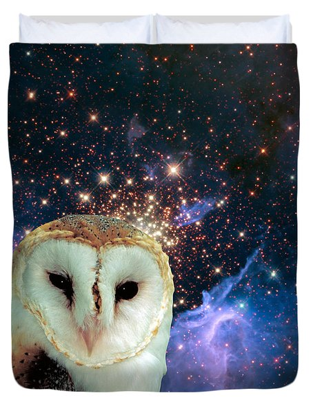 Celestial Nights Duvet Cover