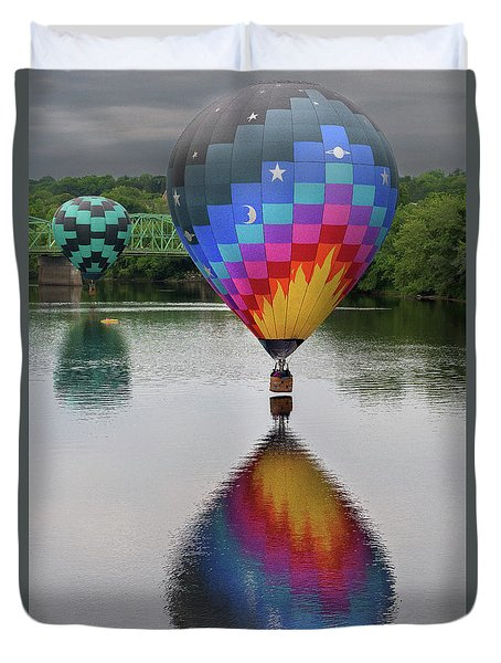 Celestial Reflections Duvet Cover