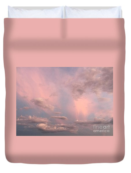 Celestial Sky Duvet Cover by Paula Guttilla