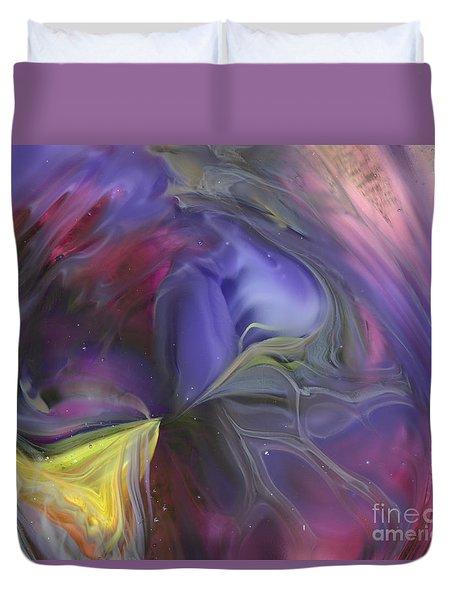 Celestial Vortex Duvet Cover