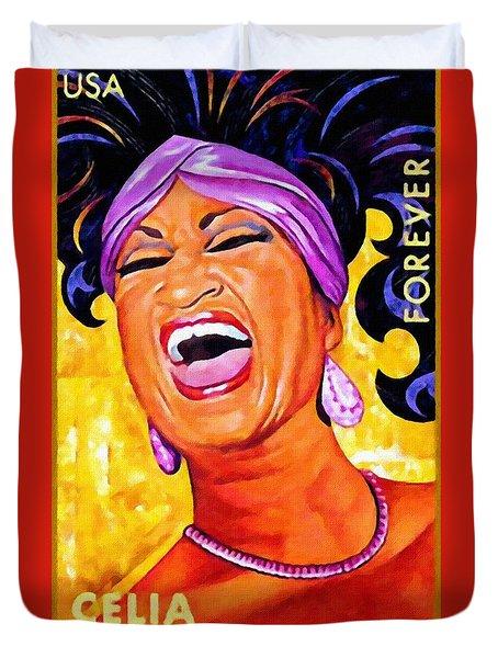 Celia Cruz Duvet Cover