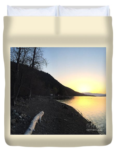 Celista Sunrise 1 Duvet Cover by Victor K