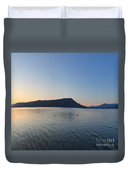 Celista Sunrise 2 Duvet Cover by Victor K