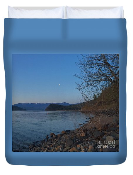 Celista Sunrise 3 Duvet Cover by Victor K