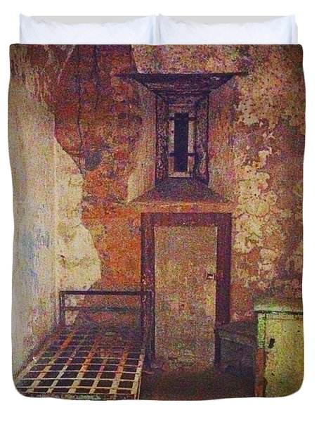Cell At Eastern State Penitentiary Duvet Cover