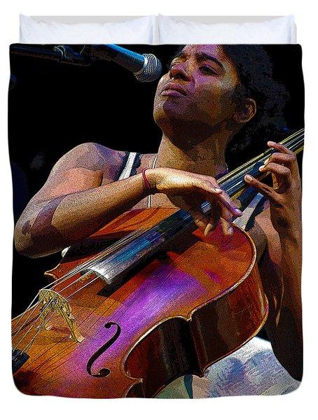 Cellist Duvet Cover