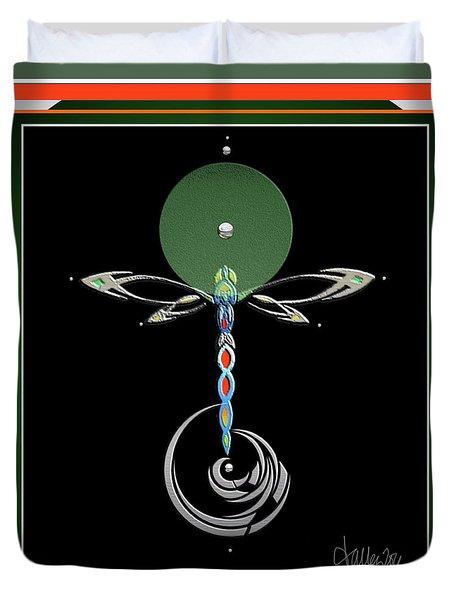 Celtic Dragonfly Duvet Cover