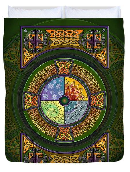 Celtic Elements Duvet Cover