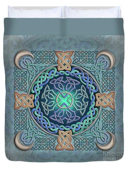 Celtic Eye Of The World Duvet Cover