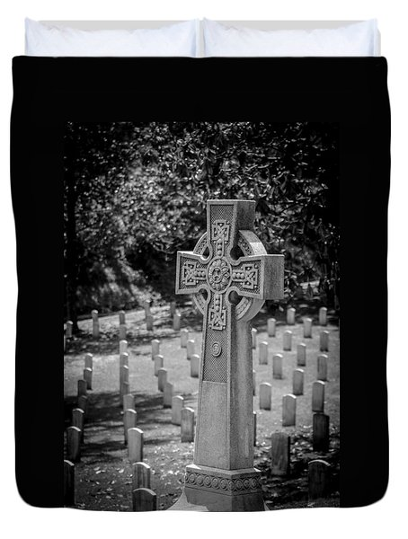 Celtic Grave Duvet Cover