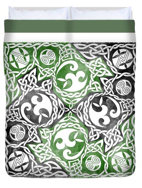 Celtic Puzzle Square Duvet Cover