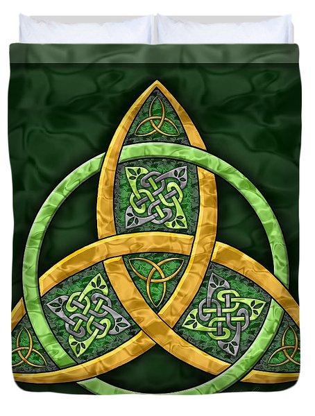 Celtic Trinity Knot Duvet Cover