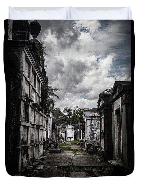 Cemetery Row Duvet Cover