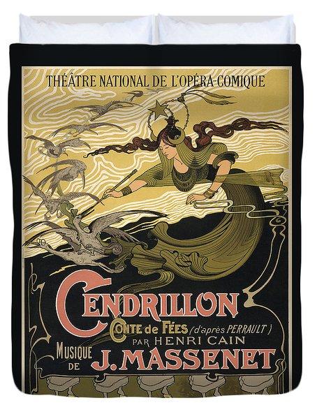 Cendrillon Poster 1899 Duvet Cover