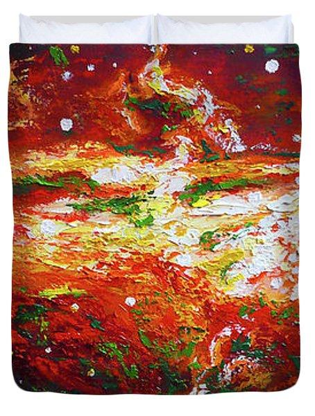 Centaurus Duvet Cover by Ericka Herazo