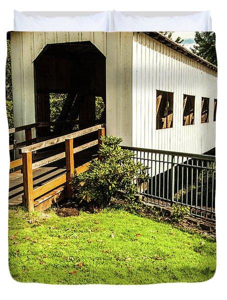Centennial Bridge Duvet Cover