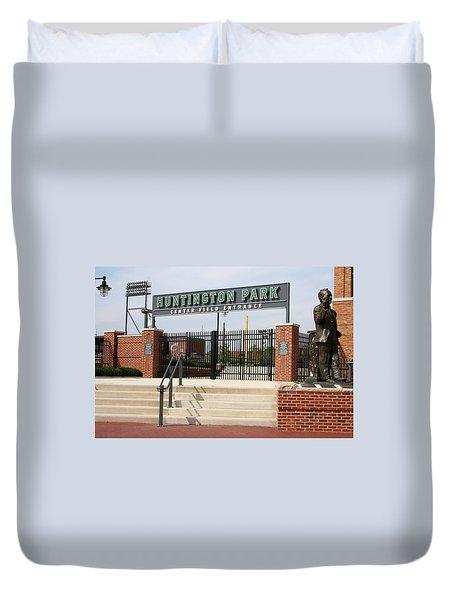 Center Field Entrance At Huntington Park  Duvet Cover