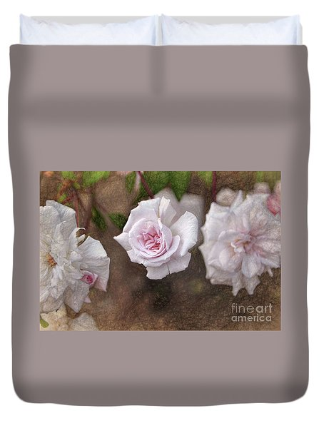 Center Of Hope Duvet Cover by Gina Savage