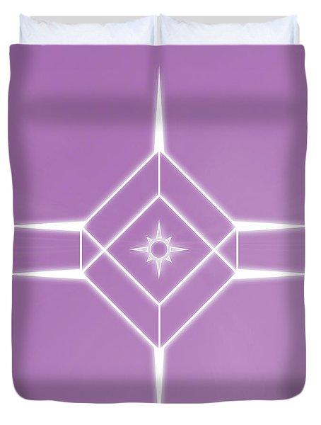 Center Of The Universe Duvet Cover