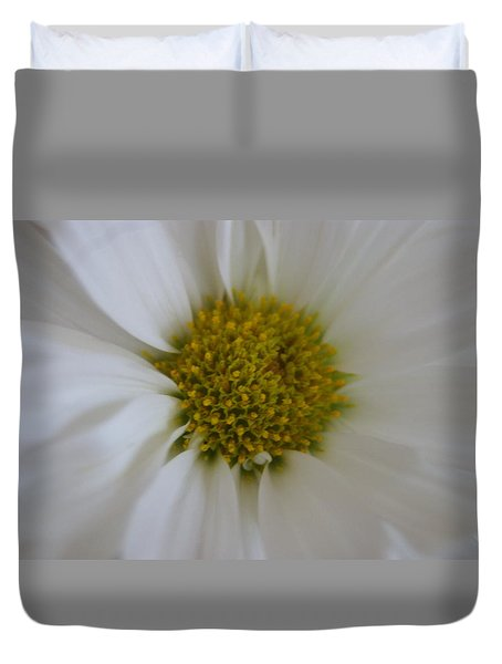Duvet Cover featuring the photograph Center Piece by Heidi Poulin