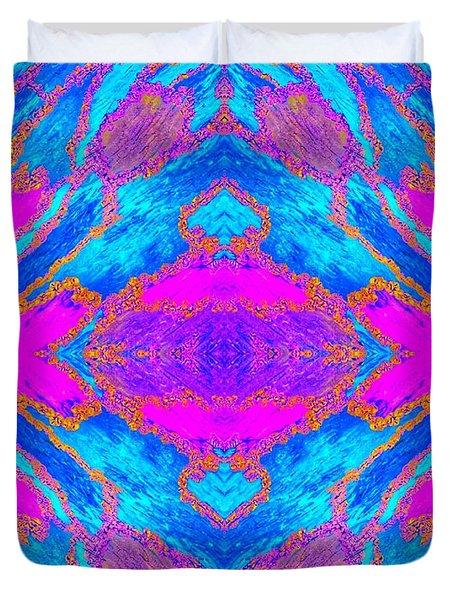 Centered Duvet Cover by Rachel Hannah