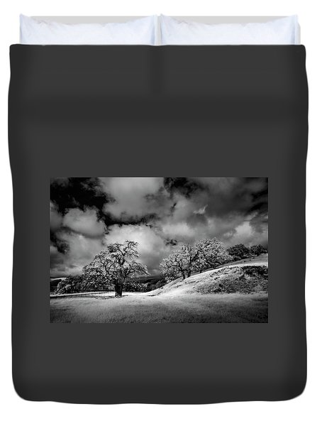 Central California Ranch Duvet Cover by Sean Foster