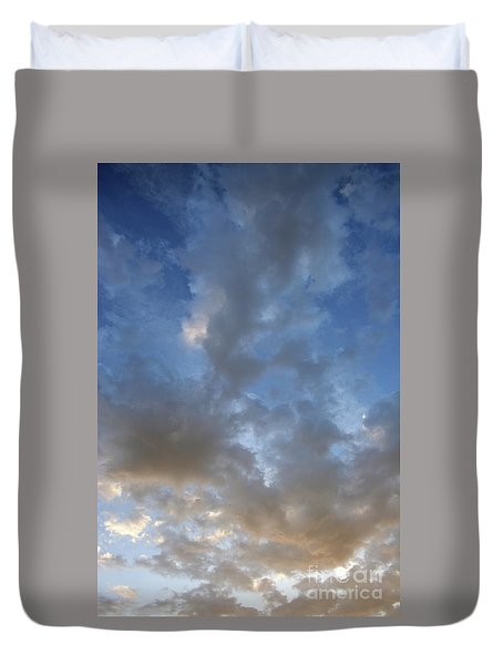 Duvet Cover featuring the photograph Central Coast Clouds 1 by Michael Rock