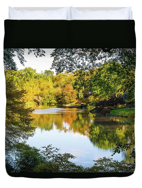 Central Park - City Nature Park Duvet Cover