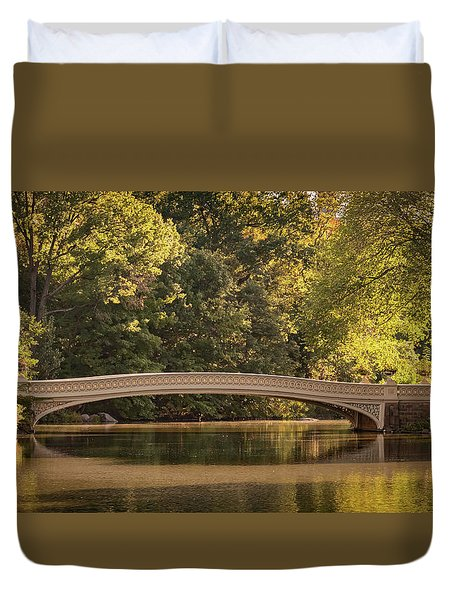 Central Park Bridge Duvet Cover