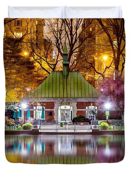 Central Park Memorial Duvet Cover by Az Jackson