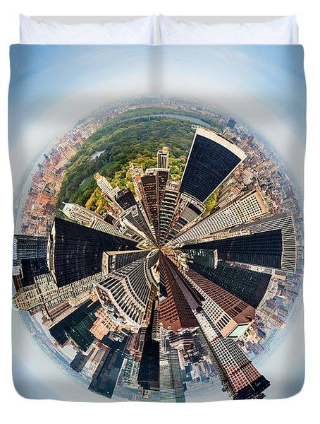 Eye Of New York Duvet Cover
