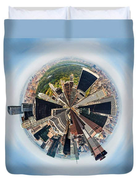 Eye Of New York Duvet Cover