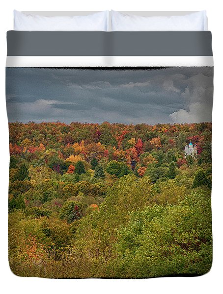 Centralia Pennsylvania Duvet Cover by Hugh Smith