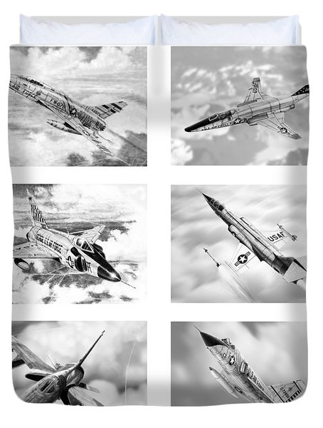 Century Series Drawings Duvet Cover
