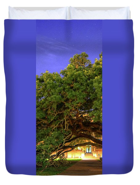 Century Tree Center Duvet Cover