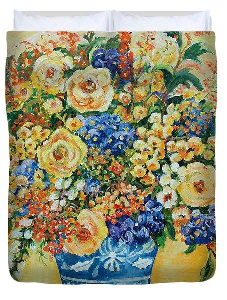 Ceramic Blue Duvet Cover