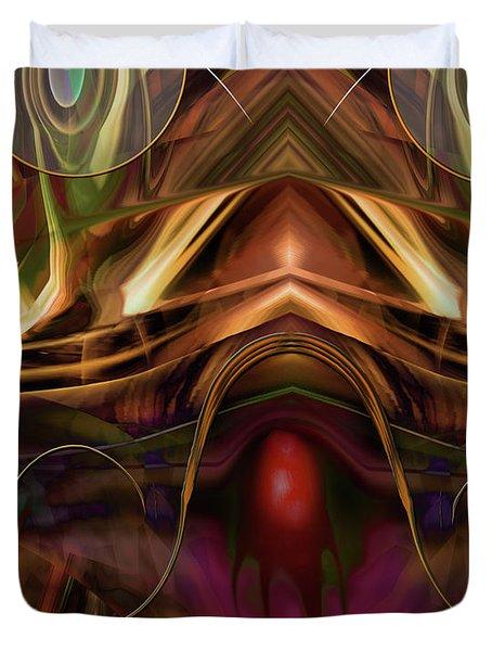 Cerebellum Festival Duvet Cover