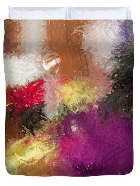 Ceremonial Colors Duvet Cover