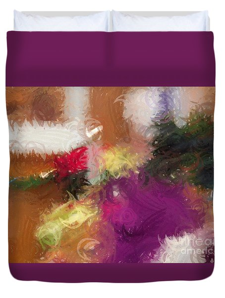 Ceremonial Colors Duvet Cover
