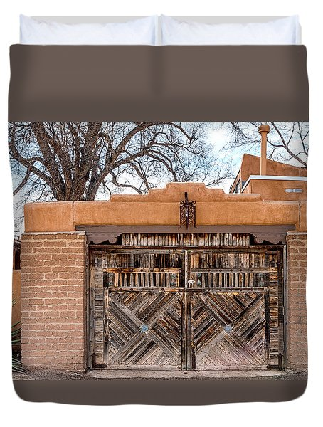 Cerrillos Gate Duvet Cover