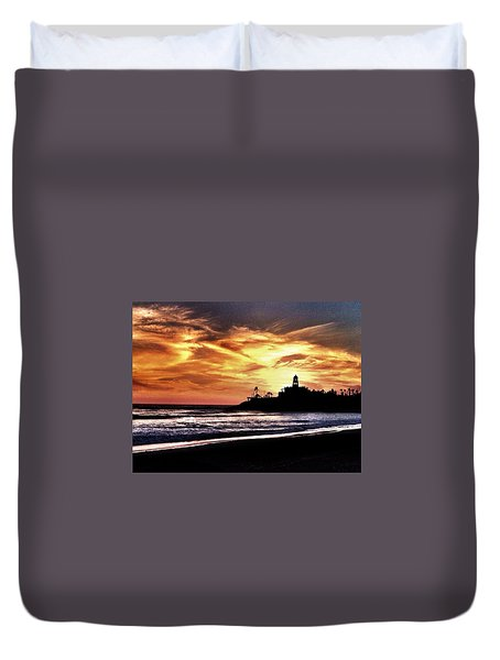 Cerritos Sunset Duvet Cover