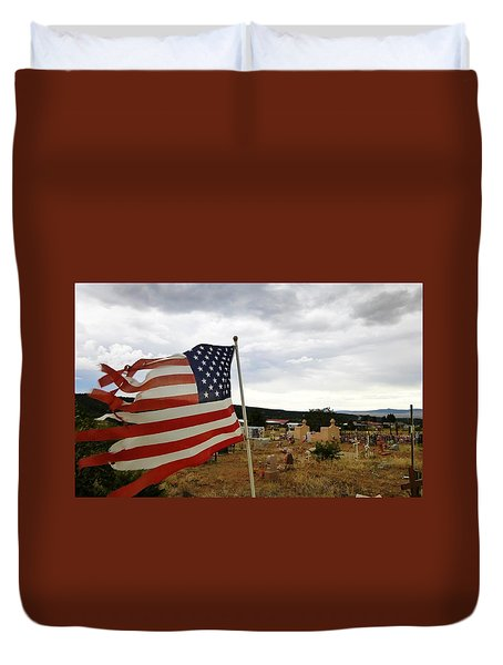 Cerro, New Mexico Duvet Cover