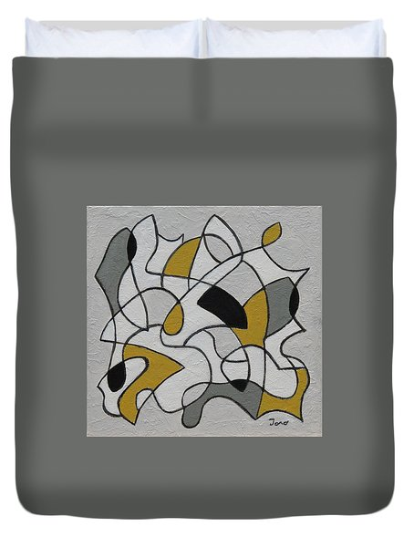 Certainty Duvet Cover