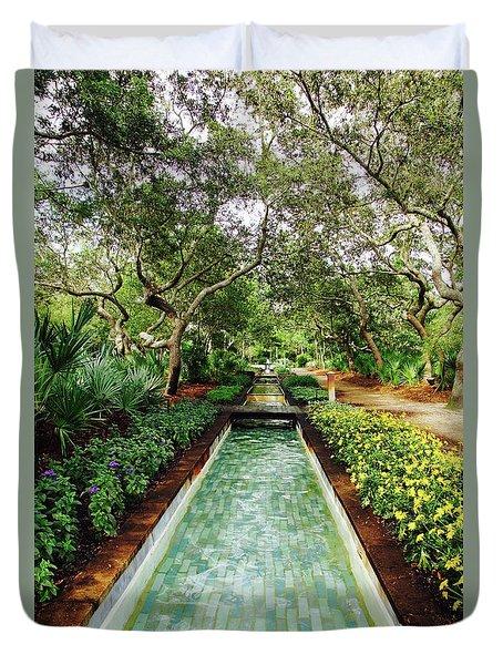 Cerulean Park Duvet Cover
