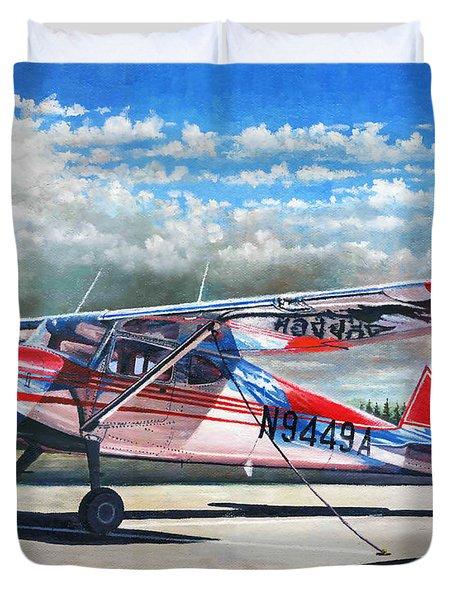 Cessna 140 Duvet Cover