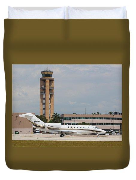 Cessna 750 Jet Duvet Cover