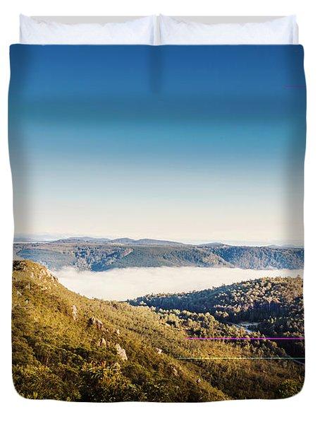 Cethana Range Tasmania Duvet Cover